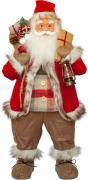 Фигурка новогодняя Санта Клаус, 81 см