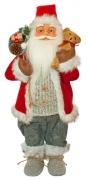 Фигурка новогодняя Санта Клаус, 61 см