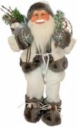 Фигурка новогодняя добрый Санта Клаус, 46 см