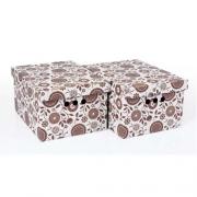 Набор картонных ящиков для хранения А4 подсолнух 2шт 0611.13