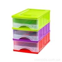 Блок для мелочей мини на 3 ящика