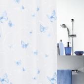 Шторка для ванной виниловая Spirella BUTTERFLY