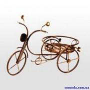 Держатель для цветов ВЕЛОСИПЕД 39*56см (металл)
