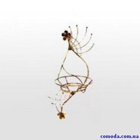 Держатель для цветов настенный 55*21 см (металл)