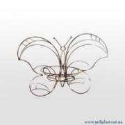 Держатель для цветов настенный Бабочка 40*48см (металл)