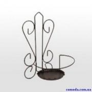 Держатель для цветов настенный Сердце малый(металл)