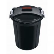 Ведро-контейнер для мусора с крышкой 75л REFUSE