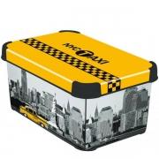 Ящик для хранения 6л Deco`s NY CITY
