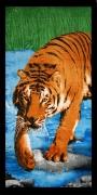 Пляжное полотенце Home Line Тигр 75х150