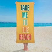 Полотенце Отвези меня на пляж 150х70 см