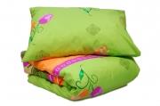 Двуспальный комплект постельного белья эконом «Тюльпан»