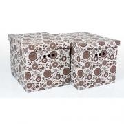 Набор картонных ящиков для хранения XL подсолнух 2шт 1217.13