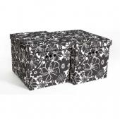 Набор картонных ящиков для хранения XL мальва 2 шт 1217.14