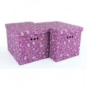 Набор картонных ящиков для хранения XL тюльпан 2 шт 1217.9.1