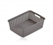 Корзина с ручками пластиковая Baskets Rotang, 39*29*13см