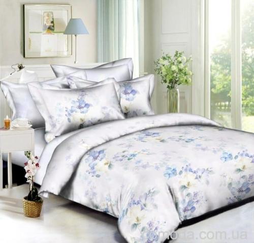 """Семейный комплект постельного белья """"Яблоневый цвет"""" Бязь Премиум"""