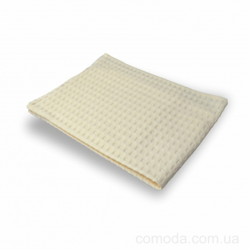 Полотенце для Сауны вафельное 50х90 Молочное