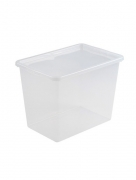Ящик для хранения с крышкой BASIC 80л