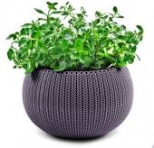 Горшок для цветов 36 см Cozies M, фиолет
