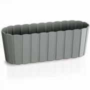 Балконный ящик Boardee Case серый 400мм 25180-405