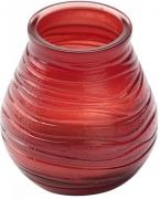 Свеча в стекле Patio light 94/91 Красная 180341