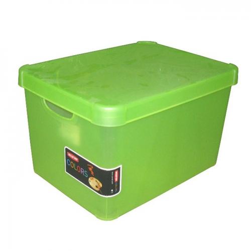 Ящик для хранения Deco`s STOCKHOLM 23л зеленый 1843