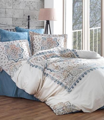 Комплект постельного белья Dantela Vita Digital Clariss евро