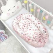 Кокон для новорожденных Baby Design Premium Бабочки