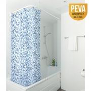 Штора для ванной комнаты pixel с металлическими кольцами, материал peva, размер 180*180 17399