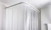 Штора для ванной комнаты tatkraft waterfall 3d 180х180 материал peva (водопад) 17429