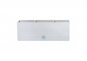 Балконный ящик RATO 500мм с вкладышем белый 72962-449