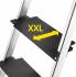 Стремянка алюминиевая L100 TOPLINE, 6 ступени