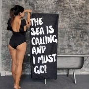 Полотенце Море зовет 150х70 см