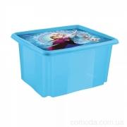 Ящик для хранения Frozen blue 24л 2234