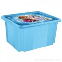 Ящик для хранения Frozen blue 45л 2235