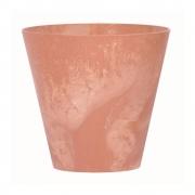 Горшок для цветов TUBUS EFFECT 400мм круглый терра мраморный 66114-624