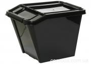 Ящик для хранения Top store, 58л черный