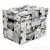 Ящик для хранения картонный ONE комикс 2437.14
