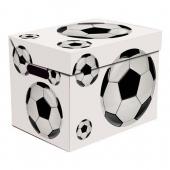 Ящик для хранения картонный ONE футбол 2437.16