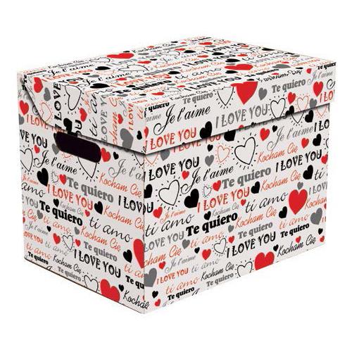 Ящик для хранения картонный ONE Iove 2437.23