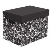 Ящик для хранения картонный ONE черная мальва 2437.25