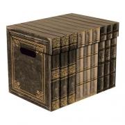 Ящик для хранения картонный ONE  старая книга 2437.26