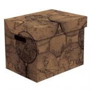Ящик для хранения картонный ONE карта  2437.37