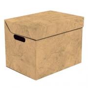 Ящик для хранения картонный ONE оранжевый мрамор 2437.38