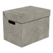 Ящик для хранения картонный ONE серый мрамор 2437.39