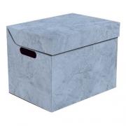 Ящик для хранения картонный ONE голубой мрамор 2437.40