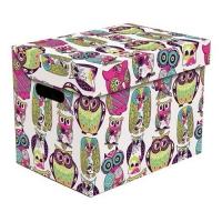 Ящик для хранения картонный ONE сова 2437.46