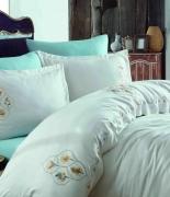 Комплект постельного белья Dantela Vita Embroidered Lena евро