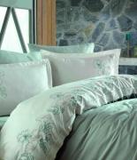 Комплект постельного белья Dantela Vita Embroidered Hare Maldiv евро мальдивы
