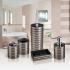 Стакан для ванной комнаты из прочного небьющегося акрила tatkraft king tower bronze 12585